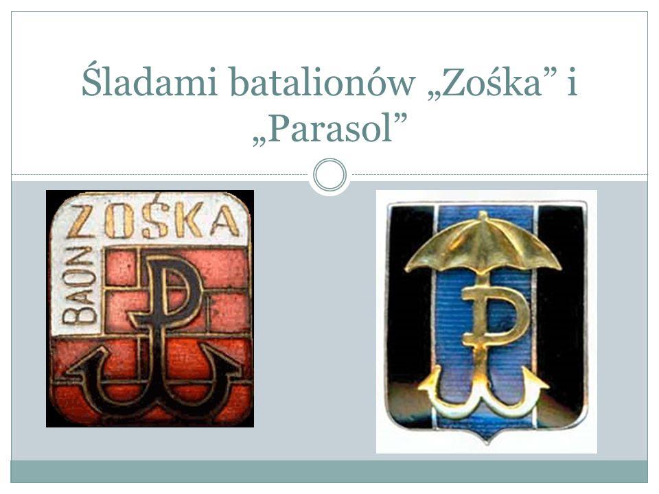 Podczas Powstania Warszawskiego Batalion Parasol wszedł obok Batalionu Zośka w skład Zgrupowania Radosław.