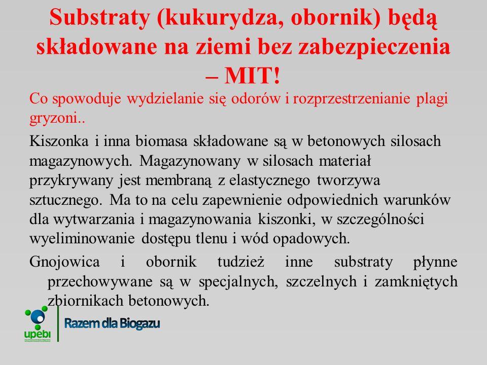Biogazownie są głośne – MIT.