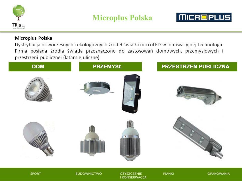 Microplus Polska Dystrybucja nowoczesnych i ekologicznych źródeł światła microLED w innowacyjnej technologii. Firma posiada źródła światła przeznaczon
