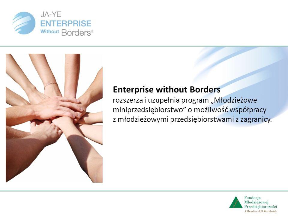 Enterprise without Borders rozszerza i uzupełnia program Młodzieżowe miniprzedsiębiorstwo o możliwość współpracy z młodzieżowymi przedsiębiorstwami z zagranicy.