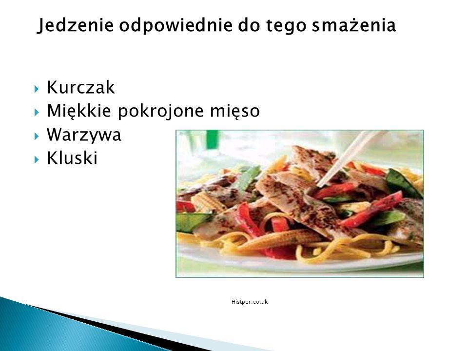 Kurczak Miękkie pokrojone mięso Warzywa Kluski Histper.co.uk Jedzenie odpowiednie do tego smażenia