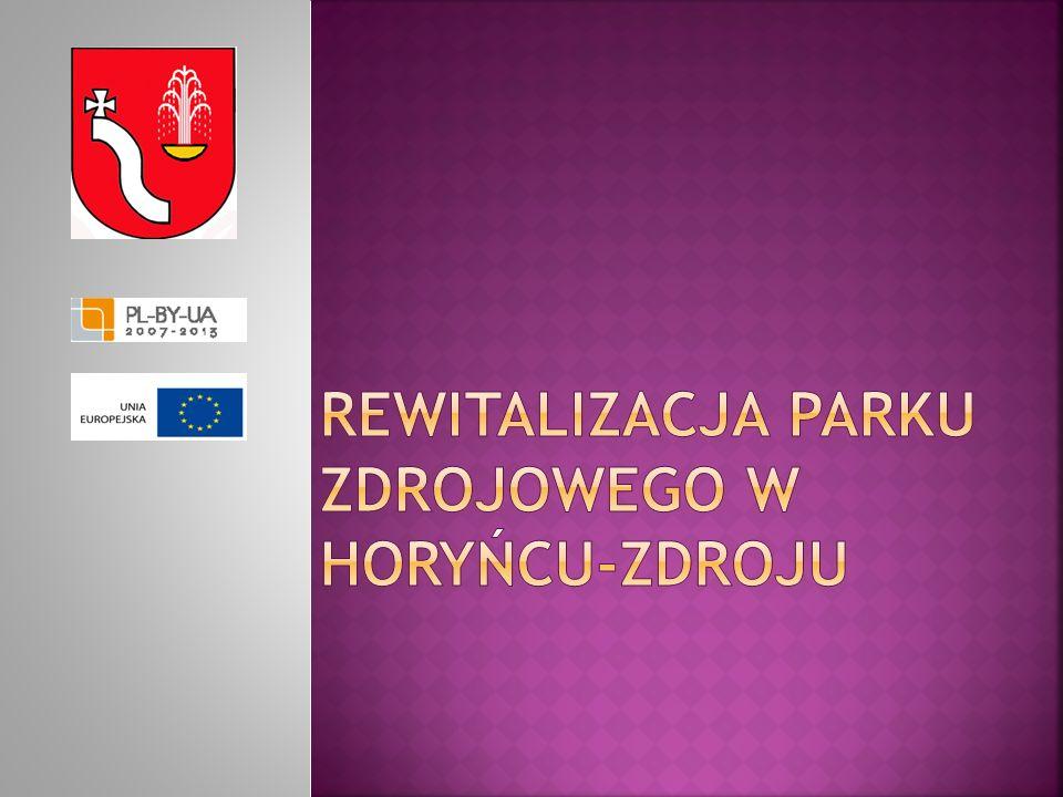 Istniejący plac zabaw zostanie przeniesiony w nowe miejsce, natomiast formy małej architektury zostaną zagospodarowane przez Gminę Horyniec – Zdrój.