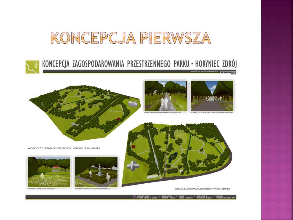 Projekt nasadzeń roślinnych ma na celu podniesienie wartości przyrodniczej i estetycznej parku w nawiązaniu do tendencji panujących w XIX i XX wieku przy kształtowaniu roślinności parków zdrojowych.