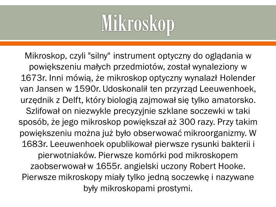 Mikroskop, czyli