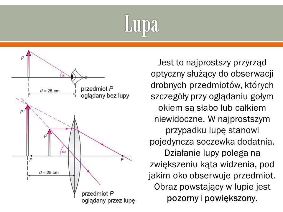 Lunety służą głównie do obserwacji odległych przedmiotów.