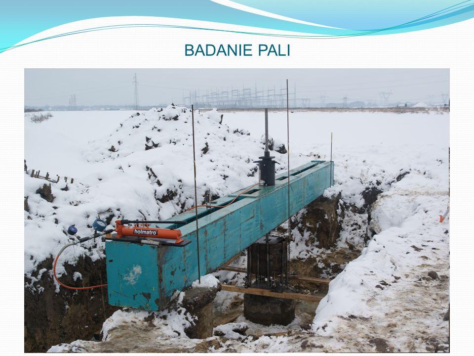BADANIA PALI: Sprawdzenie nośności pali na wyrywanie wykonywane przez IBDiM w Warszawie. BADANIE PALI