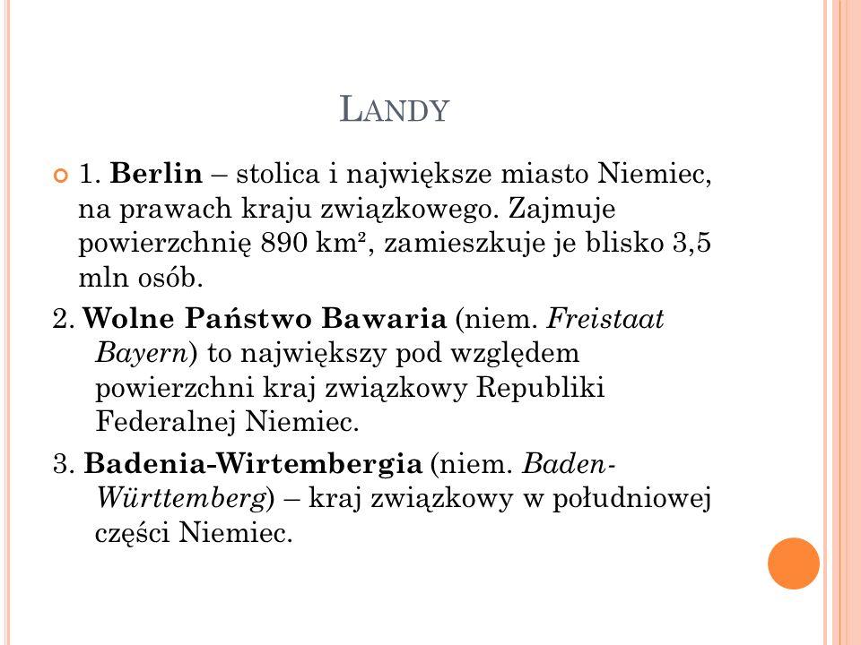 L ANDY 4.Brandenburgia (niem. Brandenburg, dolnołuż.