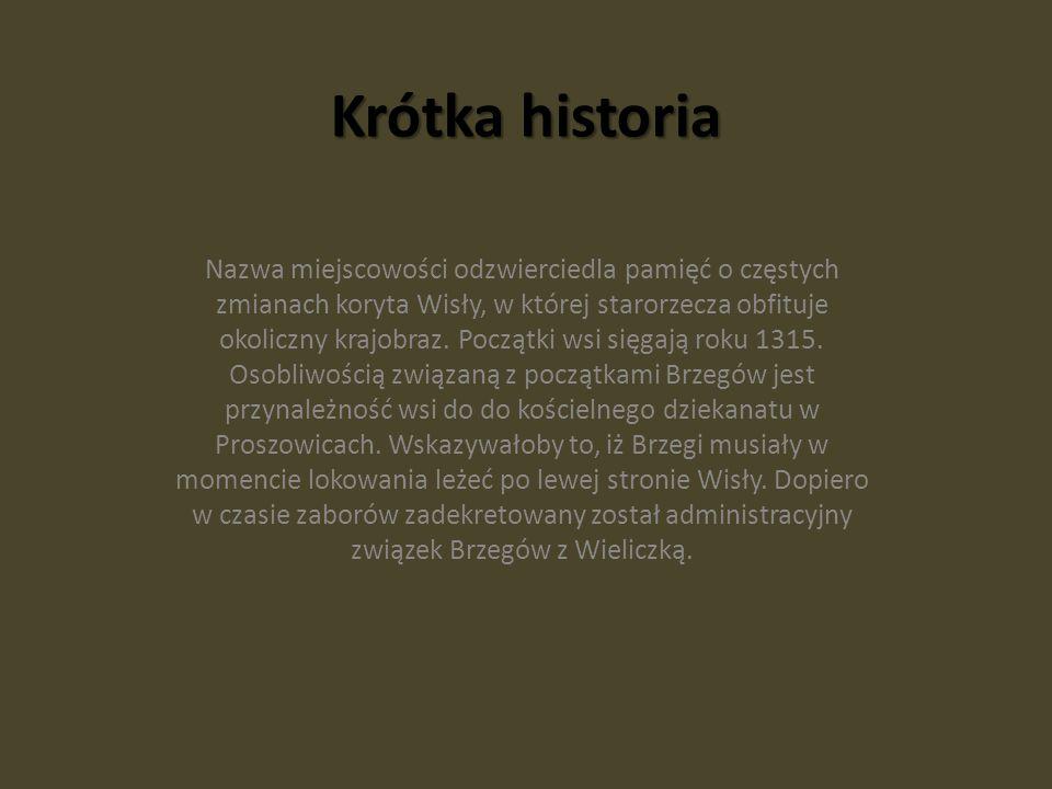 Krótka historia Nazwa miejscowości odzwierciedla pamięć o częstych zmianach koryta Wisły, w której starorzecza obfituje okoliczny krajobraz.