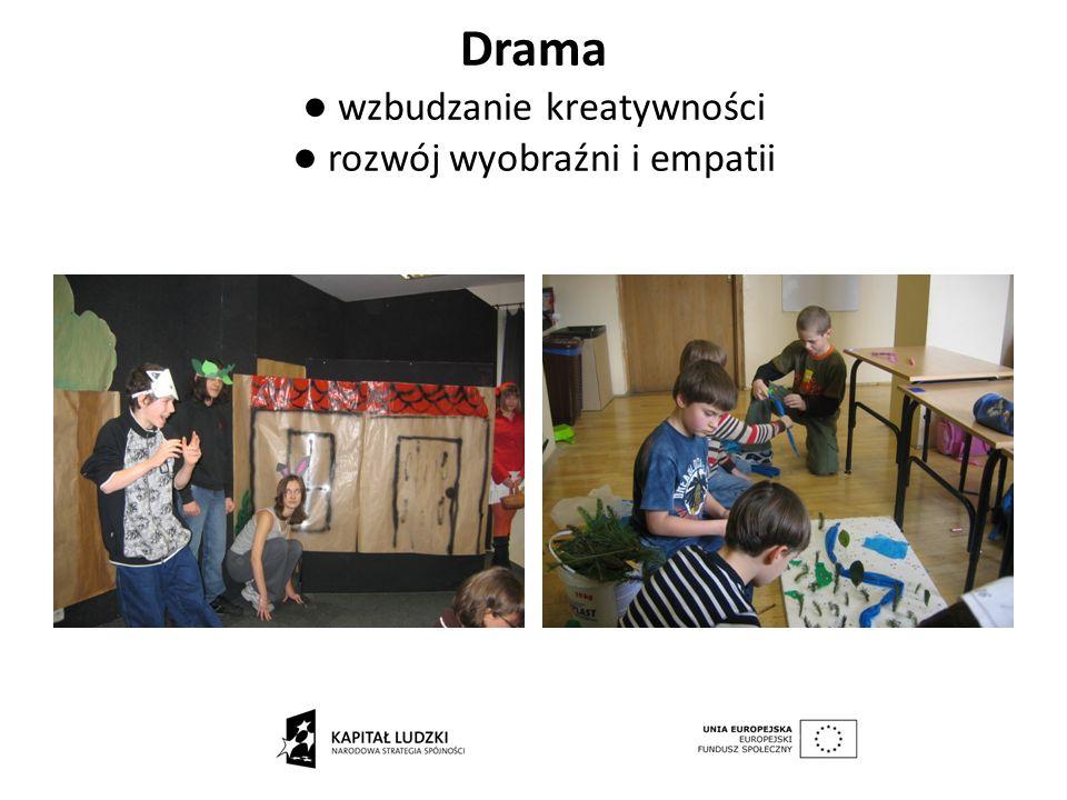 Drama wzbudzanie kreatywności rozwój wyobraźni i empatii