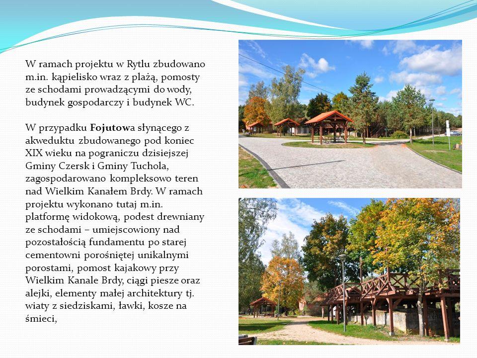 Zagospodarowanie turystyczne rezerwatu Kręgi Kamienne w Odrach To pierwsza inwestycja zrealizowana w naszej gminie ze środków Europejskiego Funduszu Rozwoju Regionalnego w ramach Regionalnego Programu Operacyjnego dla Województwa Pomorskiego.