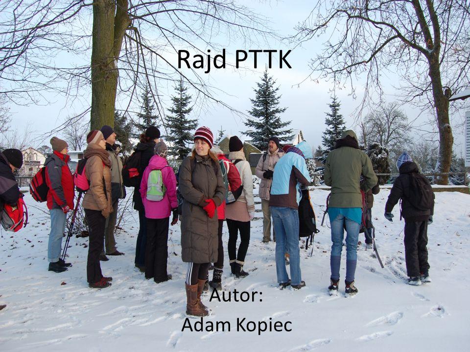 Dnia 12.01.2013 odbył się kolejny pieszy rajd organizowany przez Gorzowski Oddział PTTK.