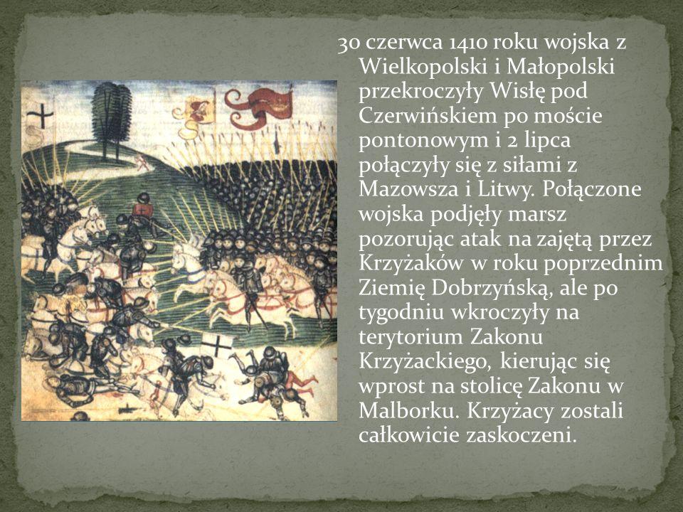 Zakon był świadom przygotowań strony polsko-litewskiej i spodziewał się dwukierunkowego ataku - Polaków na Pomorze Gdańskie i Litwinów w kierunku Żmud