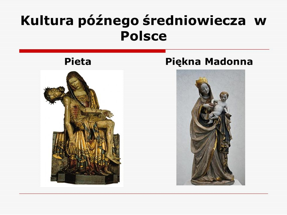 PietaPiękna Madonna