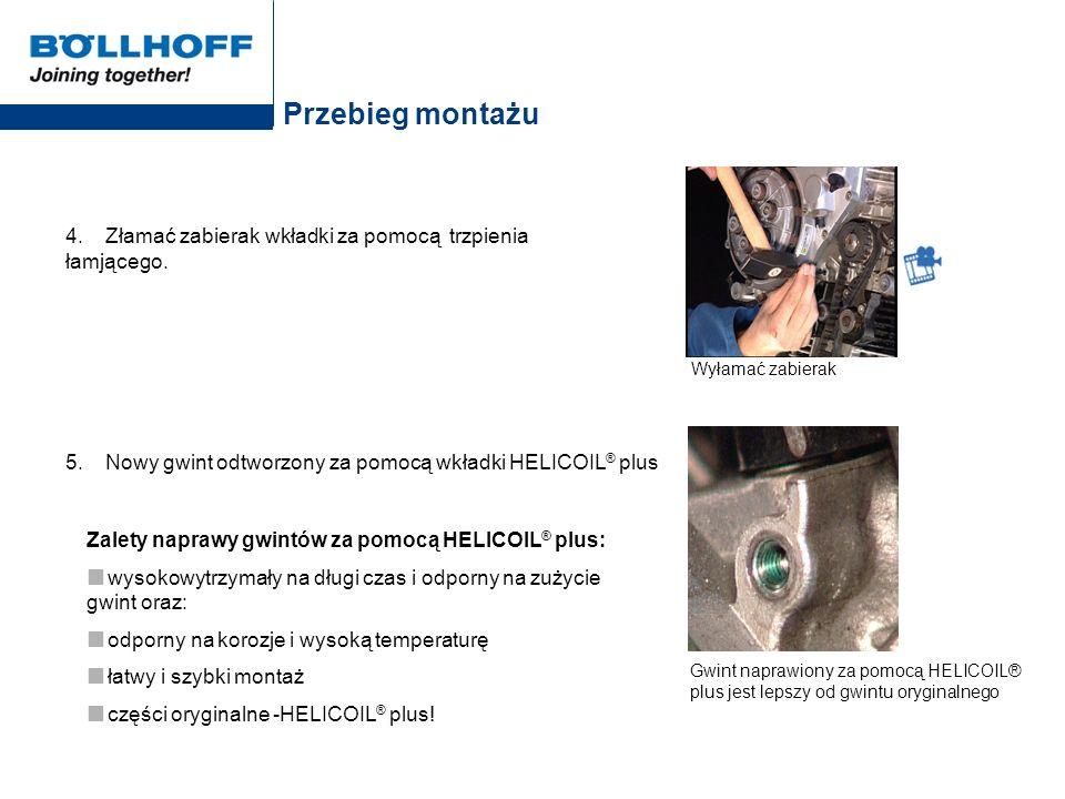 Przegląd produktów (metryczne) Zestawy naprawcze HELICOIL ® plus wł.
