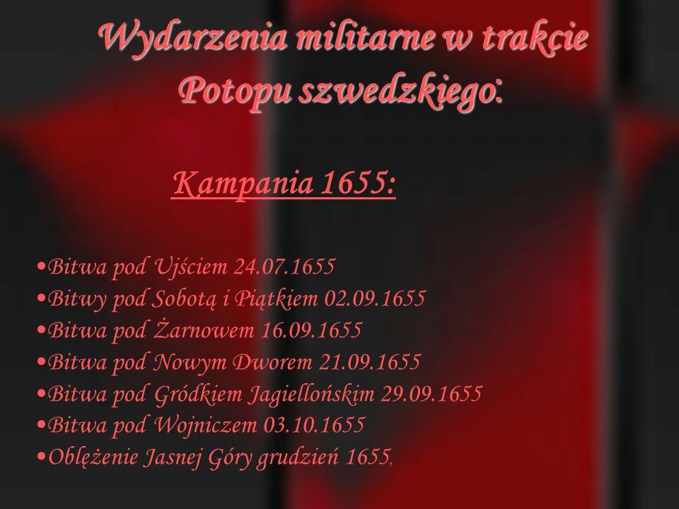 Karol X Gustaw w starciu z Tatarami polskimi pod Warszawą 1656.