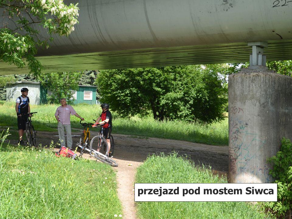 przejazd pod mostem Siwca