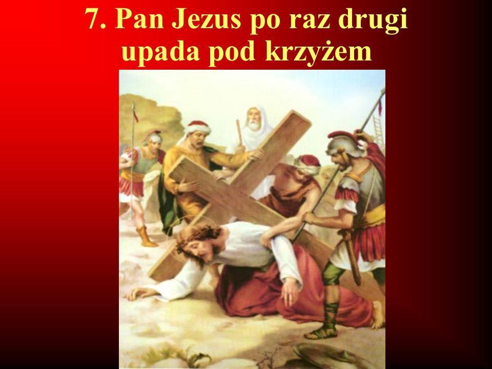 8. Pan Jezus pociesza płaczące niewiasty