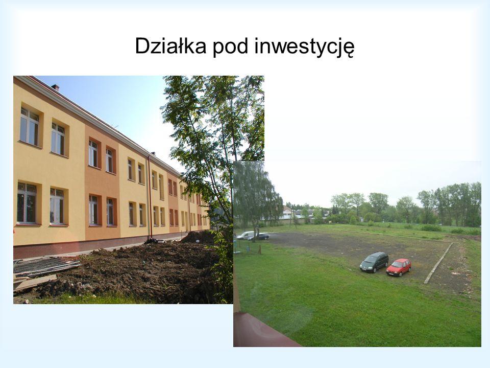 Działka pod inwestycję