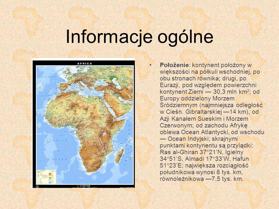 Afryka Zachodnia (2) Obszar: markroregion Afryki Zachodniej obejmuje dwa obszary geograficzno-etniczne: Sudan (Zachodni) – od Płw.