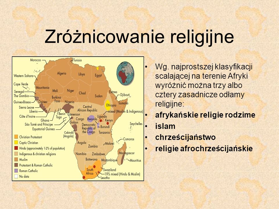 Religie rodzime Tradycyjne wierzenia i praktyki ludów Czarnej Afryki, które kształtowały się przed kontaktem z religiami przyniesionymi z zewnątrz.