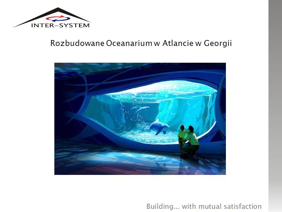 Rozbudowane Oceanarium w Atlancie w Georgii