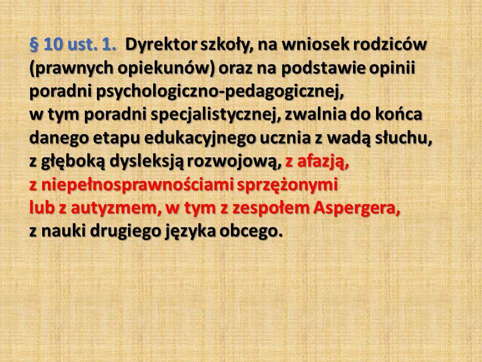 § 10 ust.1.