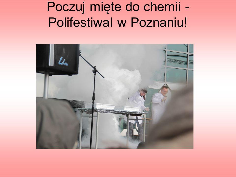 Poczuj mięte do chemii - Polifestiwal w Poznaniu!