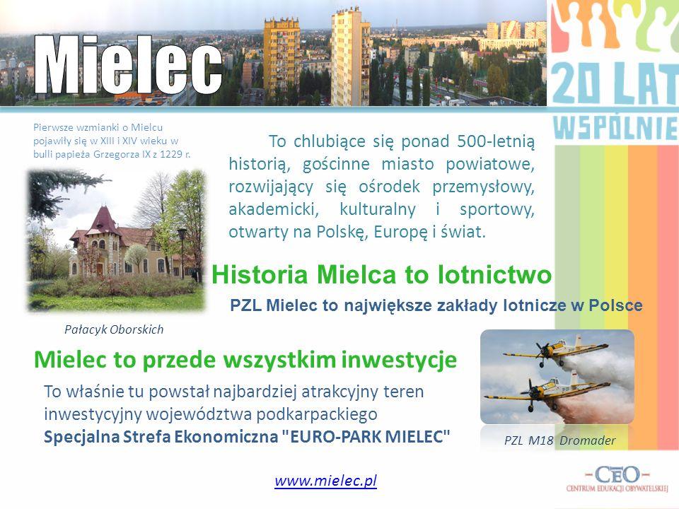 To chlubiące się ponad 500-letnią historią, gościnne miasto powiatowe, rozwijający się ośrodek przemysłowy, akademicki, kulturalny i sportowy, otwarty