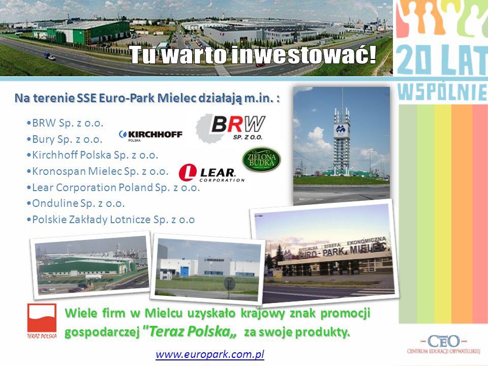 Wiele firm w Mielcu uzyskało krajowy znak promocji gospodarczej