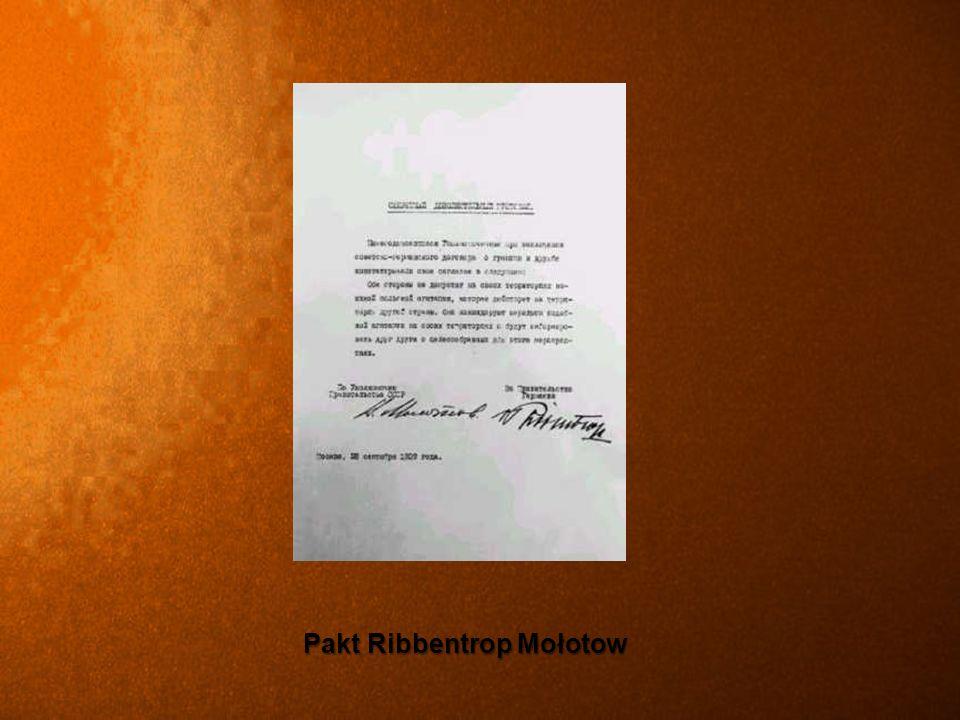 Pakt Ribbentrop Mołotow