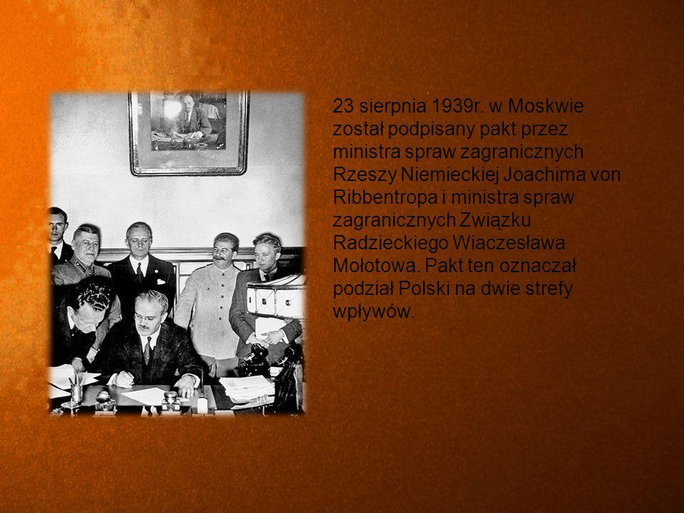 17.09.1939r.Agresja ZSRR na Polskę 18.09 – 19.09.1939r.