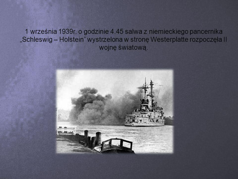 W ten sposób agresorzy rozprawili się z Polską, nacierając z dwóch stron.