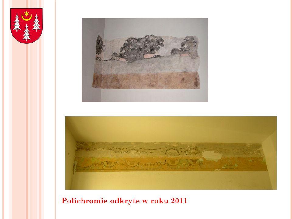 Polichromie odkryte w roku 2011
