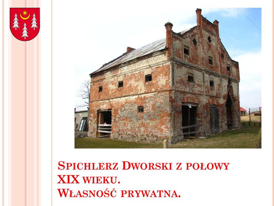 S PICHLERZ D WORSKI Z POŁOWY XIX WIEKU. W ŁASNOŚĆ PRYWATNA.