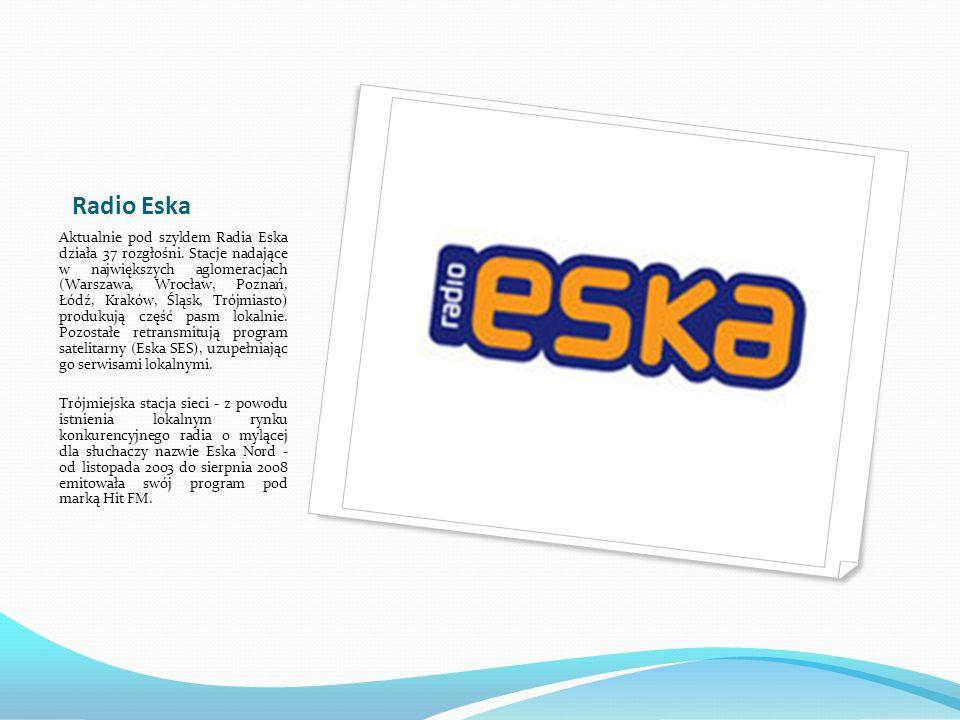 Radio Eska Rock rozgłośnia radiowa o zasiegu ponadregionalnym, prezentująca muzykę rockową - głównie z nurtu modern rock, ale także klasykę gatunku.
