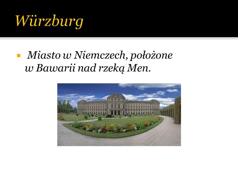 Miasto w Niemczech, położone w Bawarii nad rzeką Men.