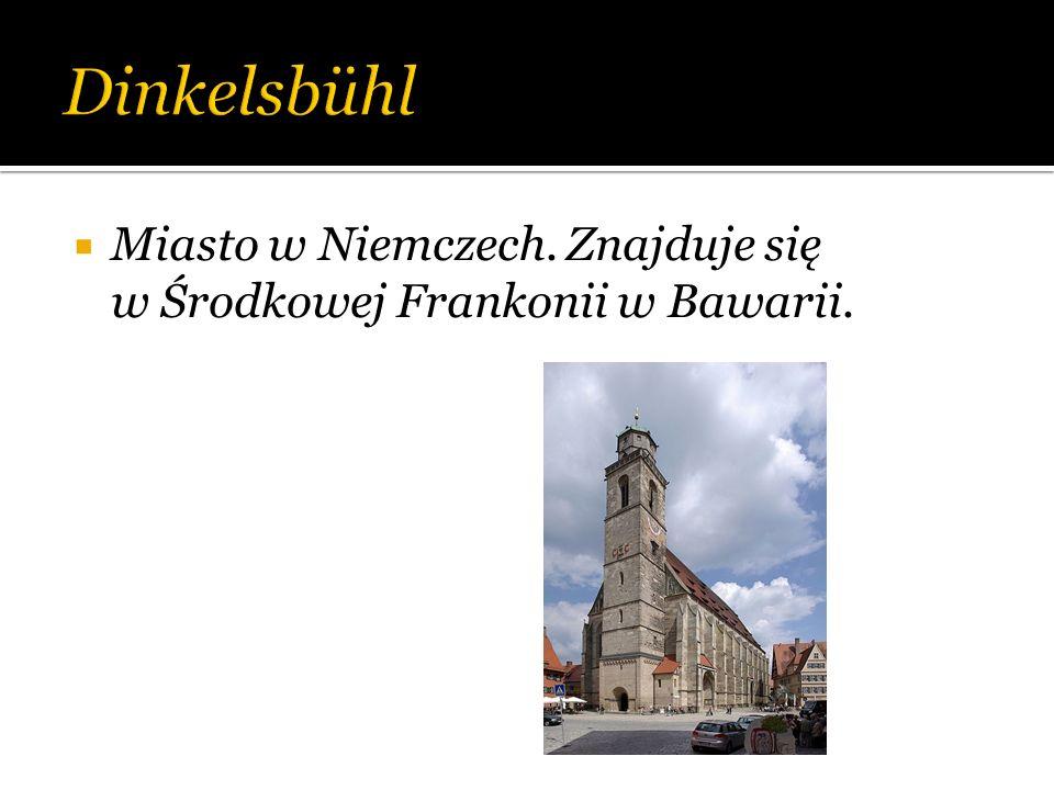 Miasto w Niemczech. Znajduje się w Środkowej Frankonii w Bawarii.