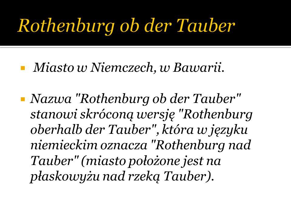 Miasto w Niemczech, w Bawarii. Nazwa