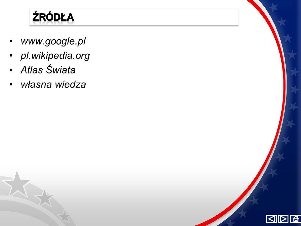 www.google.pl pl.wikipedia.org Atlas Świata własna wiedza