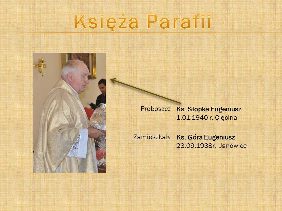 Odpust parafialny w Janowicach odbywa si ę 1 maja, ze wzgl ę du na patrona ko ś cio ł a Ś w.
