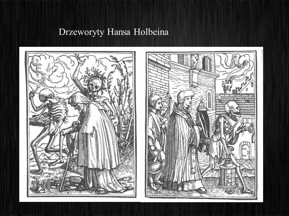Bernt Notke Taniec Śmierci Drzeworyty Hansa Holbeina