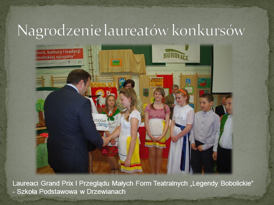 Laureaci Grand Prix I Przeglądu Małych Form Teatralnych Legendy Bobolickie - Szkoła Podstawowa w Drzewianach