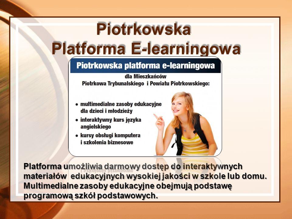 Platforma umożliwia darmowy dostęp do interaktywnych materiałów edukacyjnych wysokiej jakości w szkole lub domu. Multimedialne zasoby edukacyjne obejm