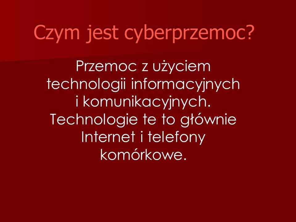 Przemoc z użyciem technologii informacyjnych i komunikacyjnych.