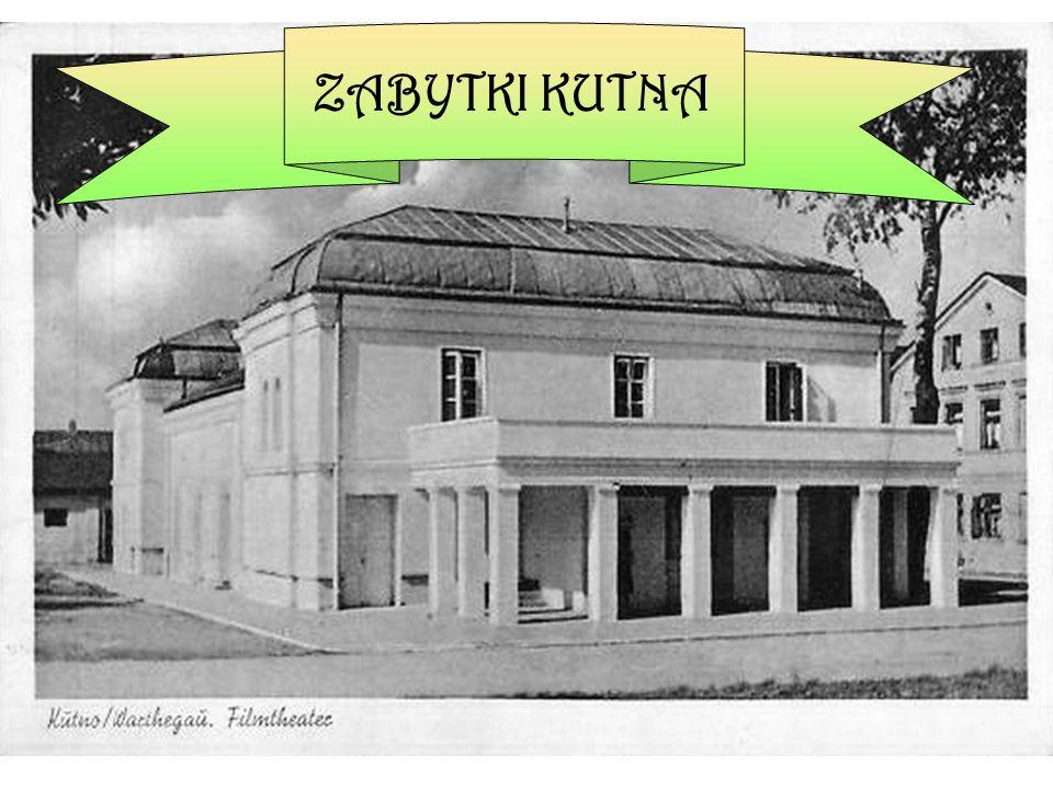 W ybudowany w I połowie XIX wieku kompleks budynków szpitalnych.