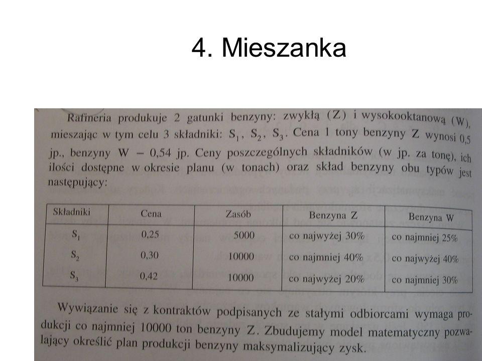 Andrzej Torój, Ekonometria 4. Mieszanka