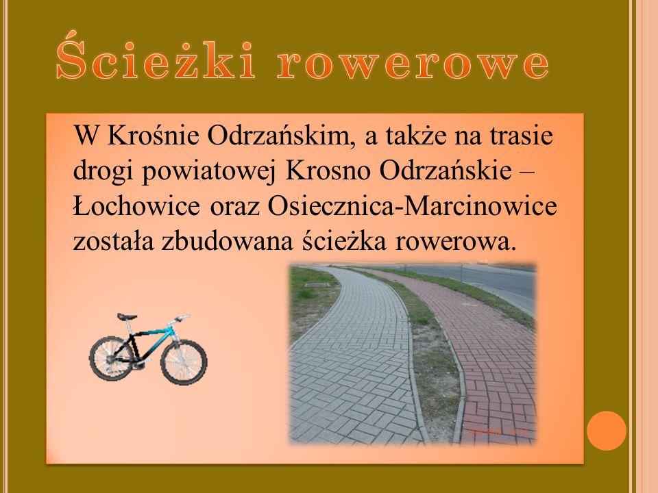 Na terenie naszego miasta został otwarty ORLIK.Odbywają się tam różne zajęcia sportowe tj.