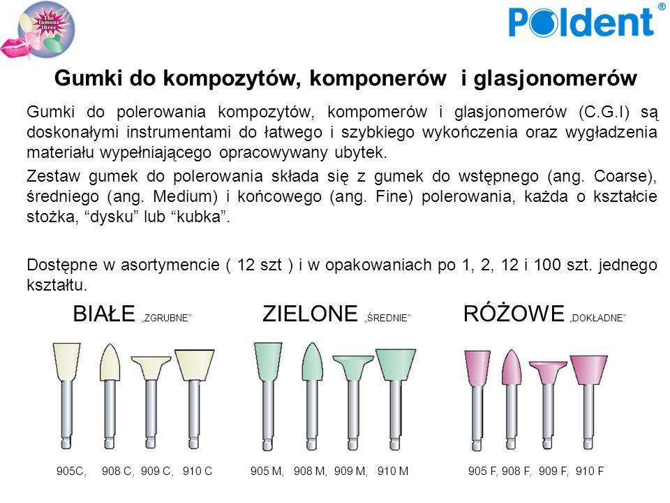 Dostępne są w asortymencie (KE750A) lub w opakowaniach po 1, 2, 6,12 i 100 szt.