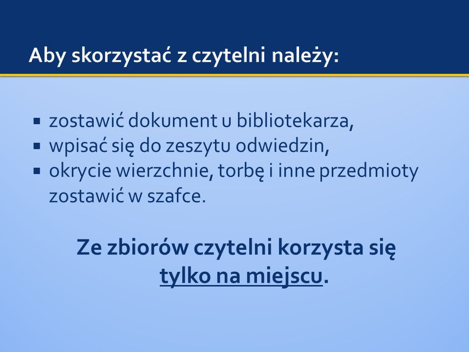 osobiście w bibliotece, telefonicznie (58 323 89 19), poprzez komunikator GaduGadu: 5441761, e-mailem na adres: biblioteka@wsb.gda.pl,biblioteka@wsb.gda.pl w katalogu OPAC.