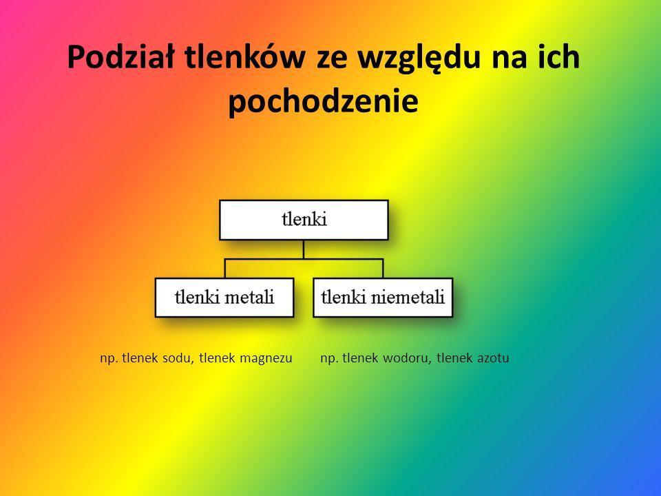 Tlenki Tlenki to związki tlenu z innymi pierwiastkami http://www.chemia.sos.pl/matura-w-pigulce.html